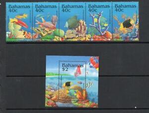 BAHAMAS MNH 1994 SG1017-1022 ENVIRONMENT PROTECTION - MARINE LIFE