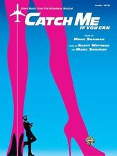 NEW - Catch Me If You Can: Sheet Music From The Broadway Musical Piano/Vocal