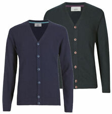 Marks and Spencer Men's No Pattern V Neck Jumpers & Cardigans
