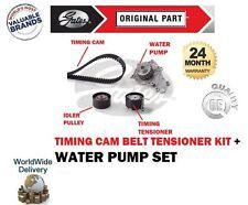 FOR CITROEN C1 C2 C3 1.4 HDi 2002-> WATER PUMP & TIMING CAM BELT TENSIONER KIT