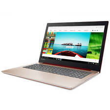 "LENOVO 15.6"" Laptop Intel 2.40GHz 4GB 1TB DVD WebCam HDMI USB Windows 10 Red NEW"