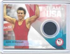 AWESOME 2016 TOPPS OLYMPIC SAM MIKULAK RELIC CARD ~ USA GYMNASTICS TEAM