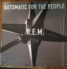 Vtg REM Automatic For The People 2 Sided Record Store Promo Poster