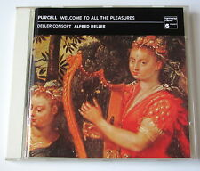 ALFRED DELLER .PURCELL. WELCOME TO ALL THE PLEASURES,St Cecilia's Day Queen Mary