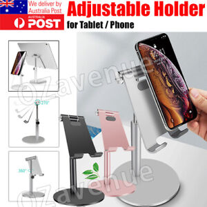 Universal Aluminum Desktop Desk Stand For iPad Tablet iPhone Samsung LG AU