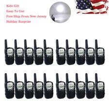 20x Retevis Rt-388 Kids Walkie Talkie Uhf 22Channel Lcd Black 0.5W 2Way Radio Us