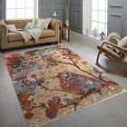 9x12 Colorful Painting Abstract Rug Modern Handknotted ,Free Shipping !!! #40