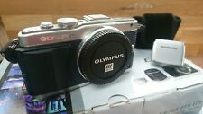 Olympus PEN E-PL5 - Silver / Blue (Body Only) Boxed - Complete.