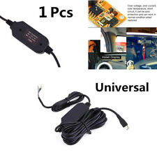 1pcs 3.5 M 12V To 5V Hard wire Cable MicroUSB For Car Dash Camera Phone GPS 2018