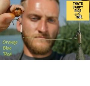 3 Tom Dove Style Ronnie Rigs / Multi Colours Available / Masterclass Carp Rigs