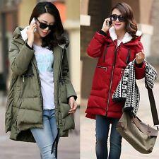 Hot Women's Coat Hooded Packable Puffer Coats Padded Cotton Warm Winter Thicken