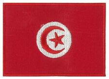 Patch patche badge écusson Tunisie brodé thermocollant Tunisien