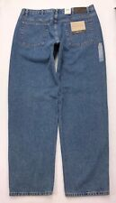 O29 NEW NWT Calvin Klein CK Easy Fit Tapered Leg Jeans sz 40x34 Long See Measure