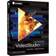 Corel VideoStudio Ultimate X9 - Video Editing for Windows ✔NEW✔