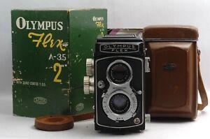 @ Ship in 24 Hrs @ Rare Box @ Olympus Flex A-3.5 II 6x6 Medium Format TLR Camera