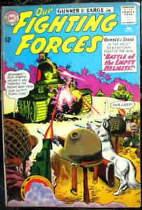 OUR FIGHTING FORCES# 82 Feb 1964 Gunner & Sarge Grandenetti Cover/Art: 7.0 FN-VF