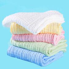 Soft Cotton Baby Infant Washcloth Bath Towel Newborn Bathing Wipe Cloth Fee X9R9