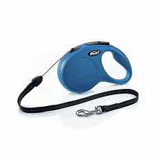 Flexi New Classic Retractable Dog Leash, Cord, 16 Ft For Dogs up to 44 lbs