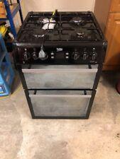 Biko   Slightly Used   Freestanding 60cm Black Gas Cooker BDVG674