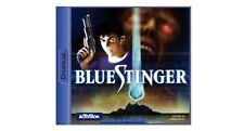 # Blue Stinger (con embalaje original) - Sega Dreamcast dc juego-Top #