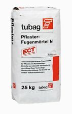 Tubag Pflasterfugenmörtel  Wasserundurchlässig grau PFN 25kg