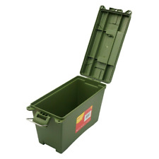 More details for ammo box, stackable, storage box, field box, toolbox, made of  rugged-plastic
