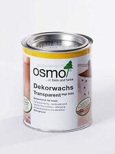 "Osmo ""Dekorwachs Transparent"" High Solid 3151 Taubenblau 2,5 Liter"