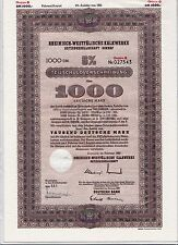 BRD Teilschuldverschreibung Rheinisch-Westfälische Kalkwerke AG 1000 DM 1963