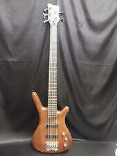 Warwick Corvette Bubinga Body 5 String Bass Passive Natural Stain Guitar 1998