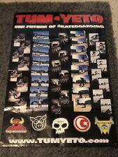 Rare Tumyeto Skateboarding Posters 98-00? Ed Templeton Jamie Thomas Zero Pig