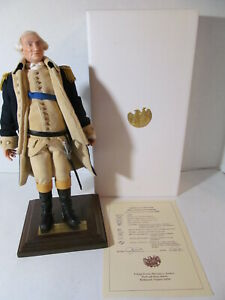 US Historical Society Living Image George Washington w/Stand & Paper