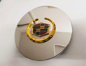 ONE, 2001-2010 Cadillac Eldorado Deville DTS Chrome Gold Wheel Center Cap RG