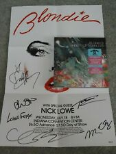 BLONDIE GREATEST HITS DELUXE REDUS/GHOSTS OF DOWNLOAD 2-CD + DVD & SIGNED POSTER