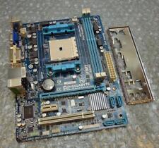 Placa Madre Gigabyte GA-A55M-DS2 Rev: 2.1 Enchufe FM1 Placa madre Placa Trasera Completa Con