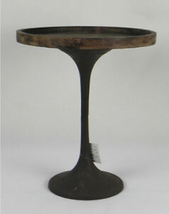 Rustic Wooden Cake Stand 50cm