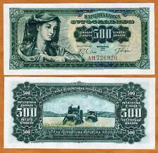 Yugoslavia, 500 dinara 1963, P-74, UNC
