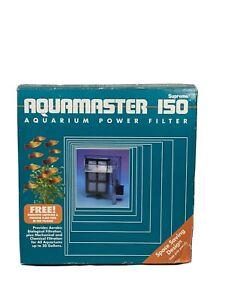 Aquamaster 150 Supreme Aquarium Power Filter Good For Tanks Up To 30 Gallon