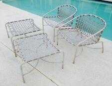 Vintage Brown Jordan Kantan Patio Lounge Chairs U0026 Ottomans,Refinishing  Available