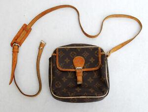 Vintage Louis Vuitton Monogram Paris Cross Body Bag / Small Purse / Authentic