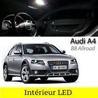 Kit ampoules à LED pour l'éclairage intérieur blanc AUDI A4 B8 Allroad Quattro