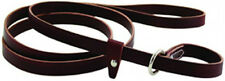 Auburn Leathercrafters QUALITY Latigo Leather Dog Kennel Slip Lead Leash