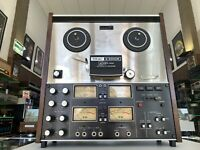 TEAC A-2340R Open Reel 4 Channel Stereo SIMUL-TRAK Tape Recorder Vintage LikeNew