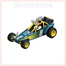 """Carrera Go 61243 Dune Buggy nº 9 """"verdes"""" (green) 1:43 carreras auto también Go Plus"""