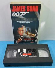 VHS CLASSIC JAMES BOND 007 COLLECTION VINTAGE - GOLDFINGER