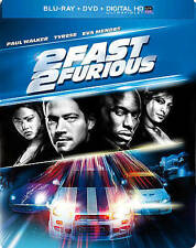 2 Fast 2 Furious Blu Ray Best Buy Limited Edition Steelbook New Sealed OOP