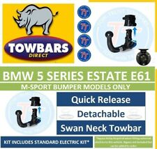 Detachable Swan Towbar for BMW 5 Series E61 Tourer Estate M-Sport Only 04to12