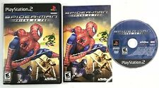 SpiderMan Friend or Foe (Sony Playstation 2 PS2) Black Label Video Game Complete