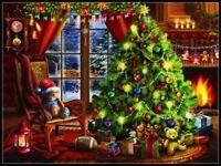 Christmas Memories - DIY Chart Counted Cross Stitch Patterns Needlework DMC
