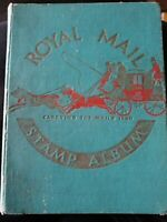 Royal Mail Stamp Album Pre-Post war rare collection 199 stamps worldwide