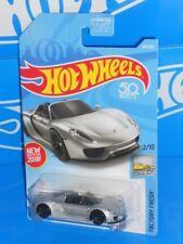 Hot Wheels New For 2018 Factory Fresh #184 Porsche 918 Spyder Silver